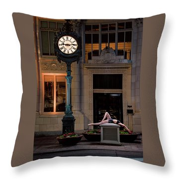 915 Throw Pillow