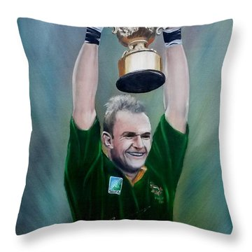 95 Rugby Worldcup Throw Pillow