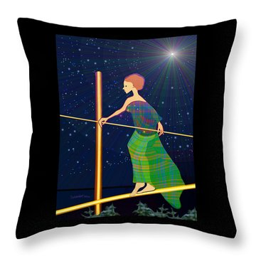 958  -   Balance   Throw Pillow