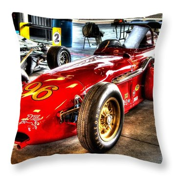 1961 Elder Indy Racing Special Throw Pillow by Josh Williams