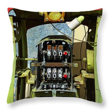 999 Throw Pillow by Skip Hunt