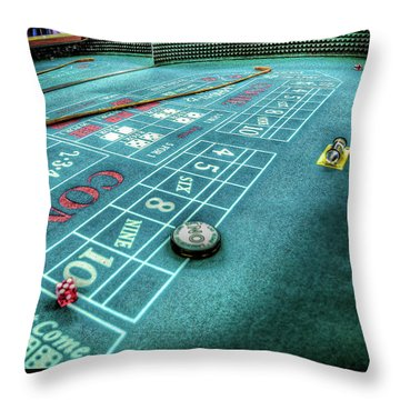 9's The Point Throw Pillow