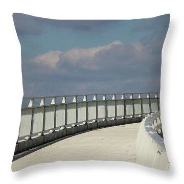 9th Street Out Throw Pillow