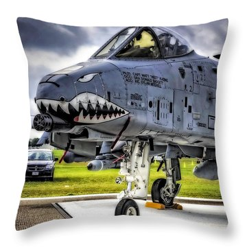 A-10 Thunderbolt  Throw Pillow by Michael White