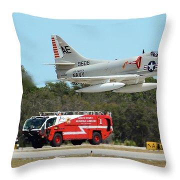 A-4 / Firetruck Throw Pillow