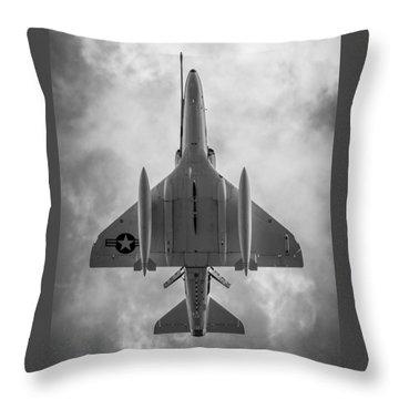 A-4 Skyhawk Throw Pillow