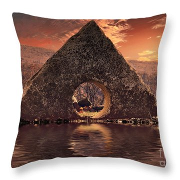 A A Throw Pillow