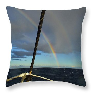 A Beautiful Day Throw Pillow