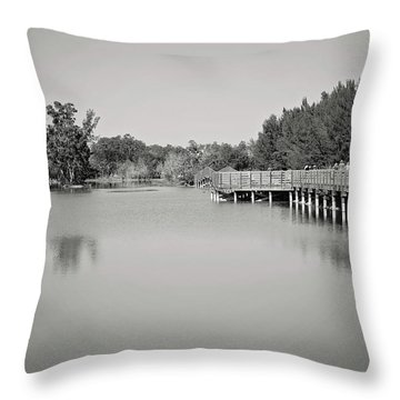 Throw Pillow featuring the photograph A Beautiful Day by Kim Hojnacki