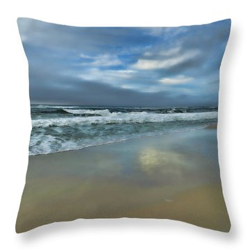 Throw Pillow featuring the photograph A Beautiful Day by Renee Hardison