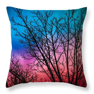 A Beautiful Morning Throw Pillow