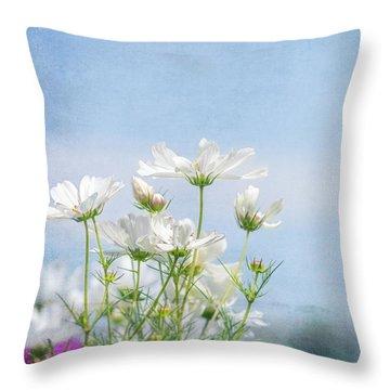 A Beautiful Summer Day Throw Pillow