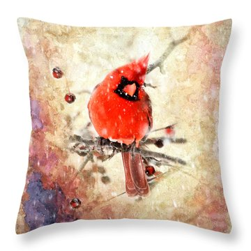 Throw Pillow featuring the photograph A Beautiful Thing by Betty LaRue