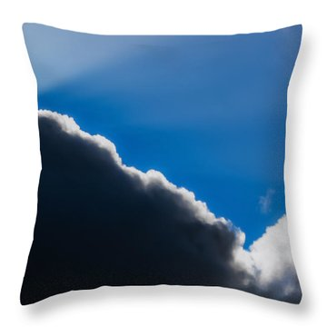 Throw Pillow featuring the photograph A Better Day Coming by Odd Jeppesen