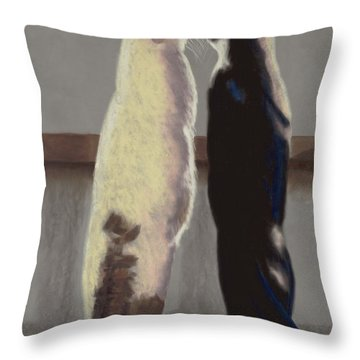 A Bird Throw Pillow