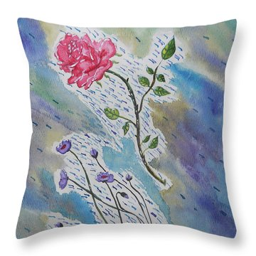 A Bit Of Whimsy Throw Pillow by Carol Crisafi