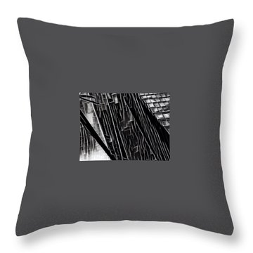 A Black-and-white Cookie Throw Pillow