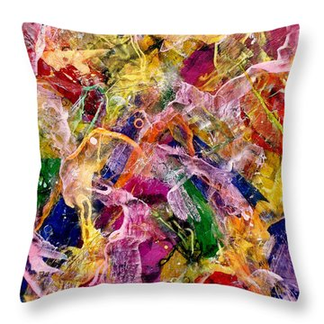 A Body Of Work - Hats Off To Hans Throw Pillow