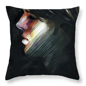 A Boy Named Rainbow Throw Pillow