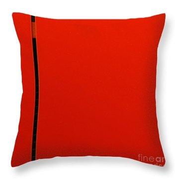 A Break In The Action Throw Pillow by CML Brown