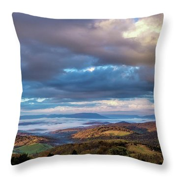 A Break In The Clouds Throw Pillow