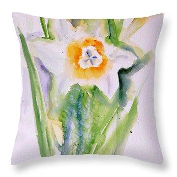 A Breath Of Spring Throw Pillow