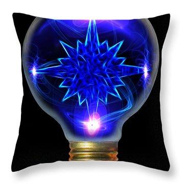 A Bright Idea Throw Pillow