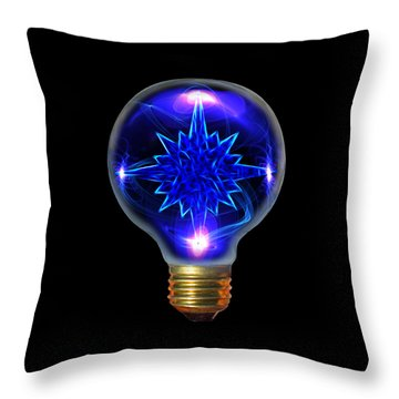 A Bright Idea Throw Pillow