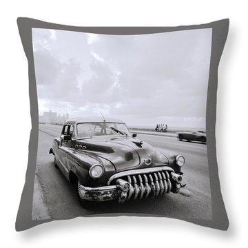 A Buick Car Throw Pillow