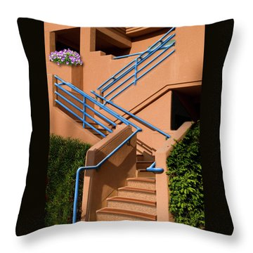 Throw Pillow featuring the photograph A Bunch Of Pansies by Paul Wear