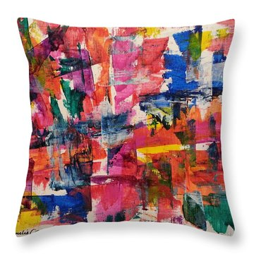 A Busy Life Throw Pillow