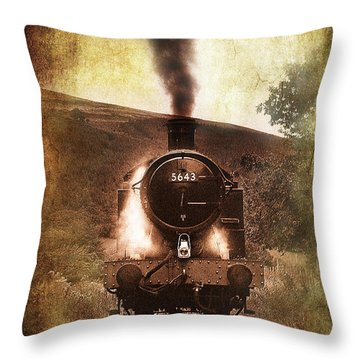 A Bygone Era Throw Pillow by Meirion Matthias