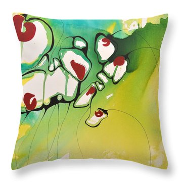 A Caged Feeling Throw Pillow