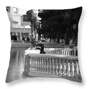 A Call Home Throw Pillow