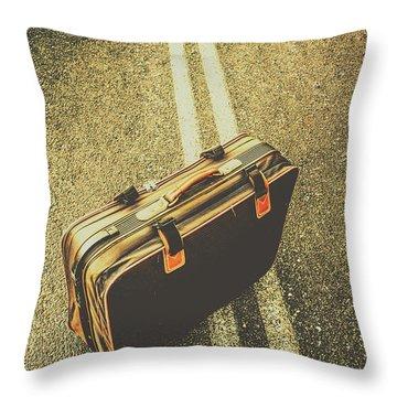 A Case For Adventure Throw Pillow