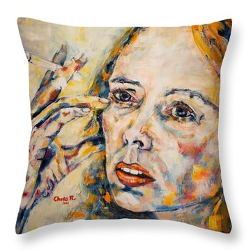 A Case Of You Throw Pillow