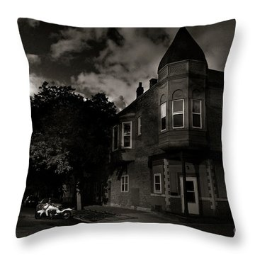 A Castle In The Hood Throw Pillow