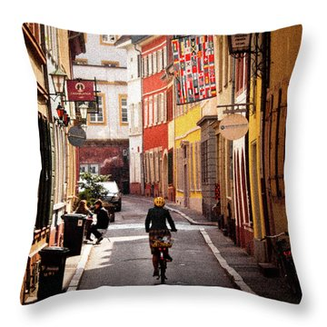 A Casual Tuesday Throw Pillow