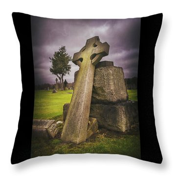 Cemetaries Throw Pillows