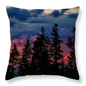 Throw Pillow featuring the photograph A Chance Of Thundershowers by Albert Seger