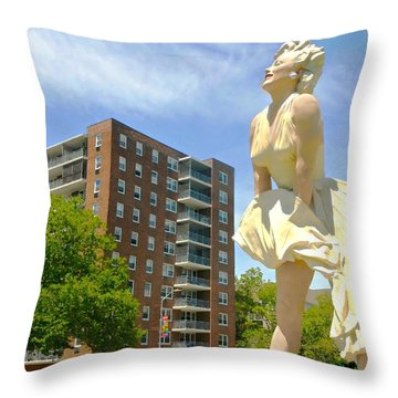 A Chance Of Windy Throw Pillow