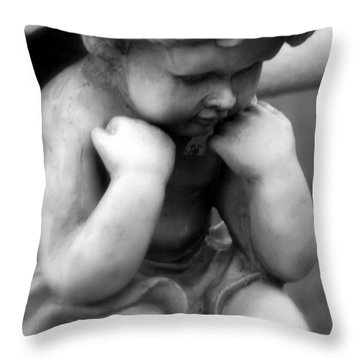 A Child Lost Throw Pillow