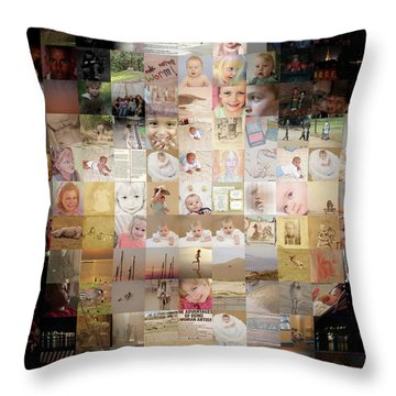 A Child - Many Children Throw Pillow