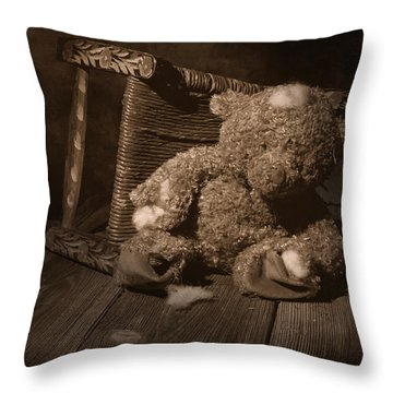 A Child Once Loved Me Throw Pillow by Tom Mc Nemar