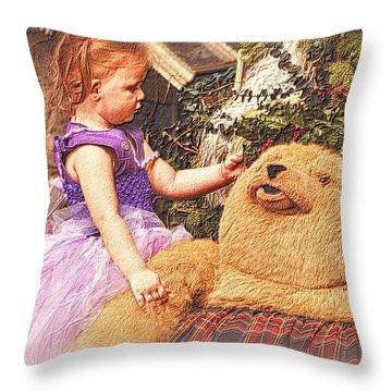 A Child's Christmas Throw Pillow