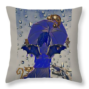 A Child's Invisibles Throw Pillow