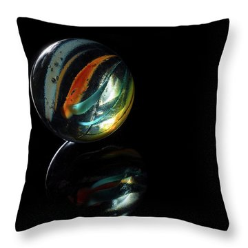 Throw Pillow featuring the photograph A Child's Universe 2 by James Sage