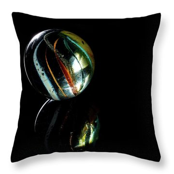 Throw Pillow featuring the photograph A Child's Universe 3 by James Sage