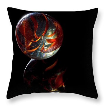 Throw Pillow featuring the photograph A Child's Universe by James Sage