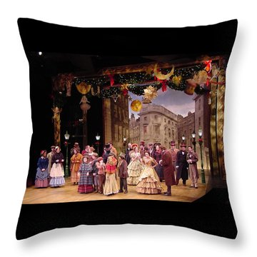 A Chrstmas Carol Throw Pillow